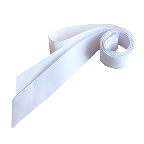 Women's Wedding Sash Bridal Belts Long Simple Classic Silk Ribbon Sash White (Bridal Sash Silk)