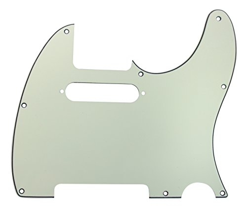- 920D CS Mint Green 3 Ply Strat Cut Pickguard for Fender Tele CNC Precision Cut
