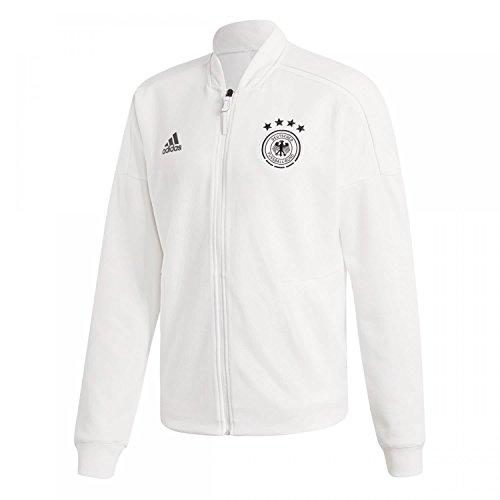 Soccer Jersey Adidas Germany (adidas Germany FC ZNE Knit Jacket - Adult - White - Large)