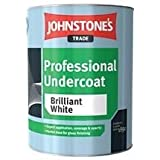 Johnstones Trade Professional Undercoat Brilliant White 5 Litre [Misc.] by Johnstones trade
