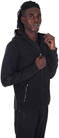 Fila Sweatshirt mit Reißverschluss Herren col. Nero Art.682692 FAI Hood Jacket