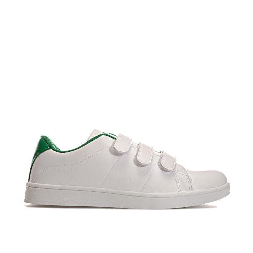 Penn Sportschuhe Court Klettverschluss Herren Weiß Grün Sneakers