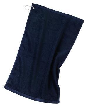 - Port Authority Grommeted Golf Towel>One size Navy TW51