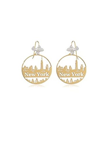Boucles d'oreilles Misis City Hall New York