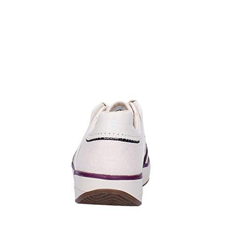 MBT Sneakers Donna 37 EU Beige Tessuto Pelle