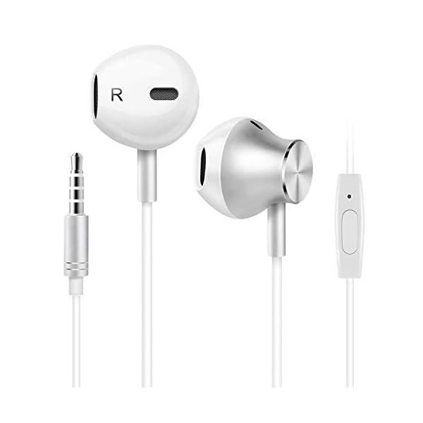 Earbuds Waterproof Sports Earphones, Stereo Sound Headphones Headsets