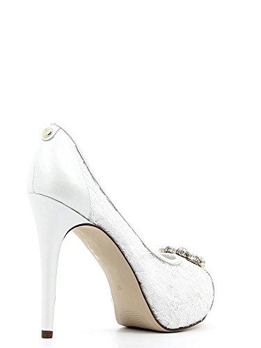 Guess - Zapatos de vestir de Lona para mujer blanco