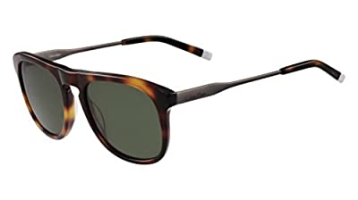 Calvin Klein Men's Ck4320s Oval Sunglasses, Tortoise, 54 mm