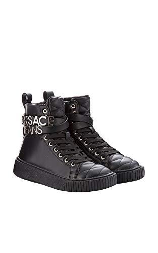 Negro Altas Scarpe E899 Versace Jeans Donna Nero para Zapatillas Mujer AF4POc