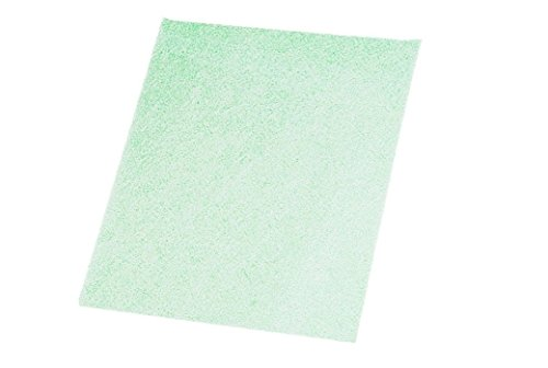3M Tri-M-ite Wet or Dry 8000 Grit, 1 Micron Green Polishing Paper Pkg of 5 Dry Trimite Paper Sheets