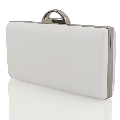 Glam Leather Clutch - 8
