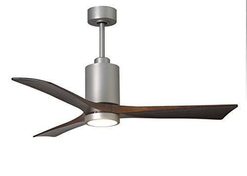 (Matthews Outdoor Ceiling Fan Silver PA3-BN-52 Patricia 52