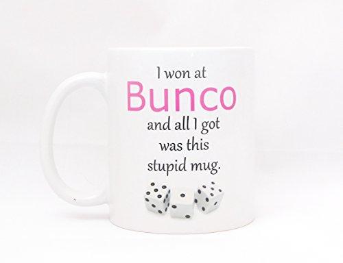 Bunco Night Coffee Mug - Funny Bunco Gift - Hostess Gift Giveaway