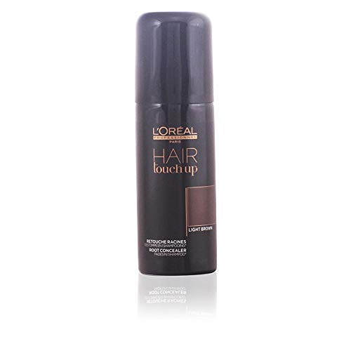 L'Oreal Professional Hair Touch Up Root Concealer Spray, Light Brown, 2.5 -