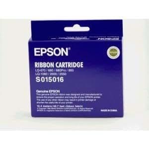 Epson Cinta EPSON s015262LQ de 670/680/680pro/860Nylon negro