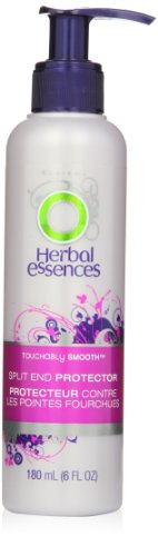 Herbal Essences Touchably Smooth Split End Protector Hair Care 6 Fl Oz (Conditioner In Essences Herbal Leave)