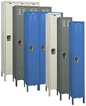 Hallowell (List Industries), Single Tier 1 Wide Kd Locker, Vm1T-1M, Size: 18