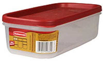 Rubbermaid Dry Food Storage 5 Cup Clear Base