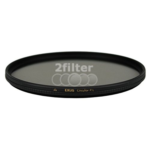 Marumi EXUS 82mm Circular Polarizering Filter & Clear Protective Filter Kit with 6x7 Wyndham Digital Microfiber Cleaning Cloth!