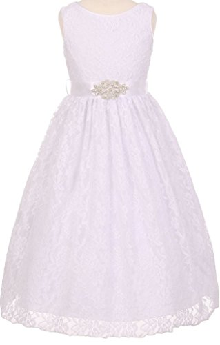 BNY Corner Communion Flower Girl Dress Collection From Cinderella For Big Girl White 16 CC 2010