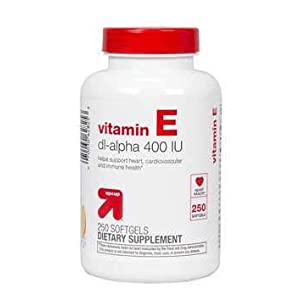 Vitamin E Dietary Supplement Softgels – 250ct