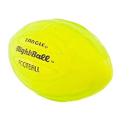 Nightball Tangle LED Light Up Football Green: Toys & Games