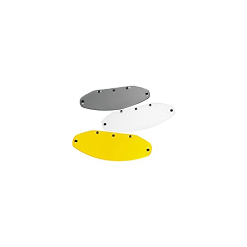 Vega Echo 5 Snap Flat Shield for Motorcycle Helmet (Amber)
