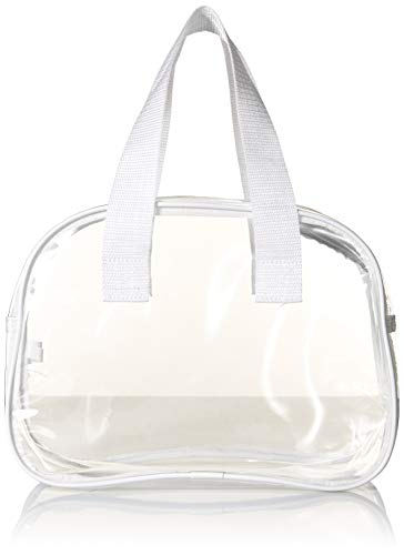 5278ce32566 Clear Bag Made of Transparent Plastic. by nova sport wear. Color  black