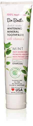 Dr Brite Mint Whitening Mineral Toothpaste Gluten Free 4 oz
