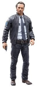 The Walking Dead TV Series 10 Rick Grimes Exclusive Action Figure, 5 Inches