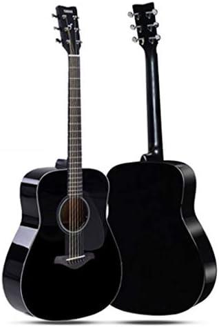 ギター ギターエレキギターヤマハFg800BL民俗理事エレクトリックボックス初心者の学生男性と女性41インチ エレキギター (Color : Black, Size : 130*40*12cm)