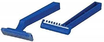 Cuchilla afeitadora desechable en estuche de 100 piezas, 1 cuchilla ...