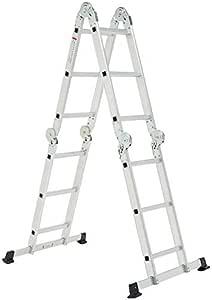 VERTEX 16 Step Multi Purpose Aluminum Folding Ladder