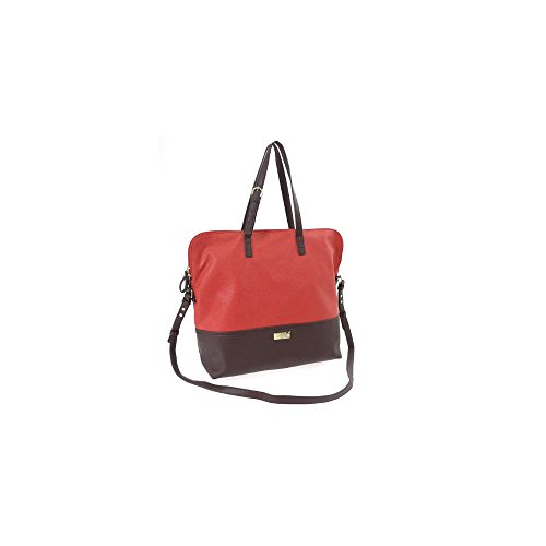 Bag Female Genuine Camomilla Tote 14008 Red 544va