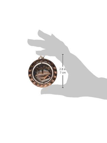 Metal, 2-5//16 in Hammond /& Stephens Reading Die Struck Spinner Medal