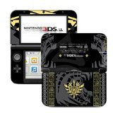 Monster Hunter 4 Goa Magara Black Limited Edition VINYL SKIN STICKER DECAL COVER for Nintendo 3DS XL / LL Console System
