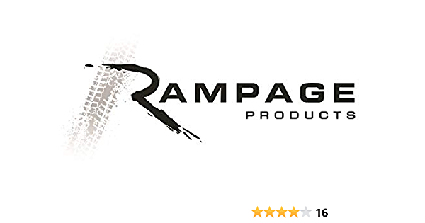 RAMPAGE PRODUCTS 88460 Stainless Euro Taillight Guards for 2007-2018 Jeep Wrangler JK