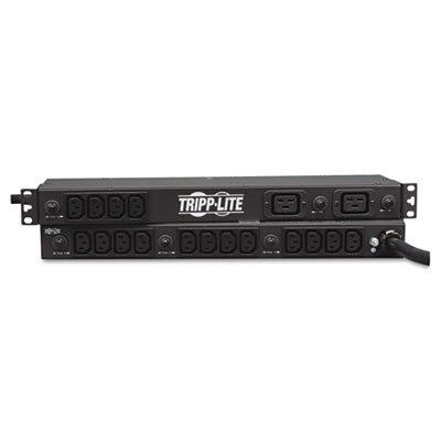 (PDU1230 Single Phase Basic PDU 30A 208V / 240V 1U RM C13 & C19)