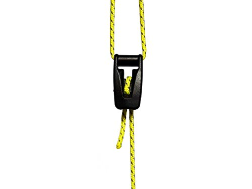 LiteOutdoors Ultralight Guyline Tensioners - Pack of 10 - Guyline Adjuster for Tents & Tarps - Camping, Hiking, Backpacking