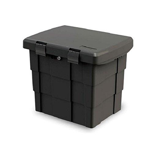 Big Waterproof Plastic Outdoor Storage Chest Garden Patio Marine Dock Truck Box! Lockable & Padlockable, Reinforced Strength!