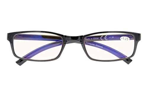UV Protection,Anti Blue Rays,Reduce Eyestrain,Folding Computer Reading Glasses