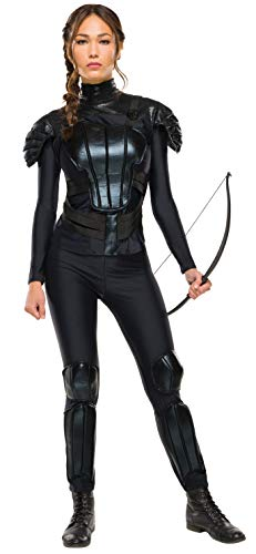Rubie's Women's The Hunger Games Deluxe Katniss Costume Rebel Mockingjay Part 1, As As Shown, Medium