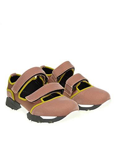 Donna Camoscio Rosa Snzw000303tcw94zl599 Marni Sneakers gaY4RW8