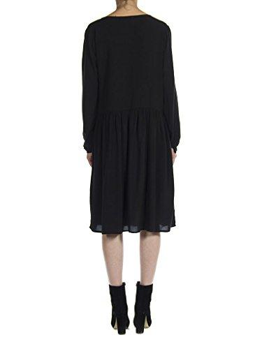 normale modello vestibilità Nero Carrera stampa per donna lunga Abito con Jeans 899 492 manica fwwqz4Z