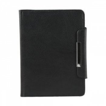 Groov-e GVKNDLWLBK Genuine Leather Wallet Case for Kindle4/Kindle Touch - Black by Groove (Image #1)