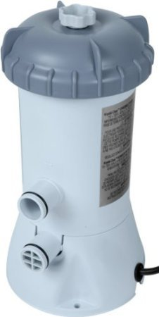 Intex 530 GPH Easy Set Pool Replacement Cartridge Filter Pump with GFCI 603