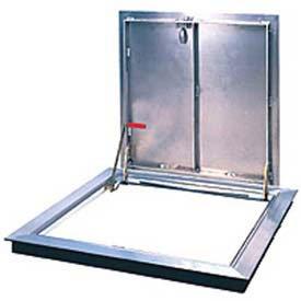 Bilco Non-Drainage Angle Frame, Single Leaf, Aluminum, 30''Lx30''W by Bilco