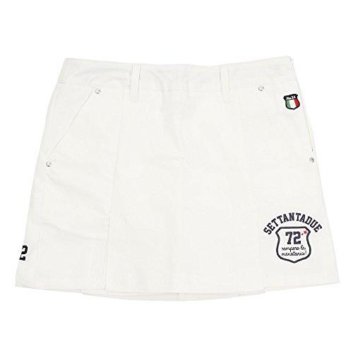 パーセッタンタドゥエ(パーセッタンタドゥエ) コットンキュロットスカート PAA06115 WHT (ホワイト/L/Lady's)