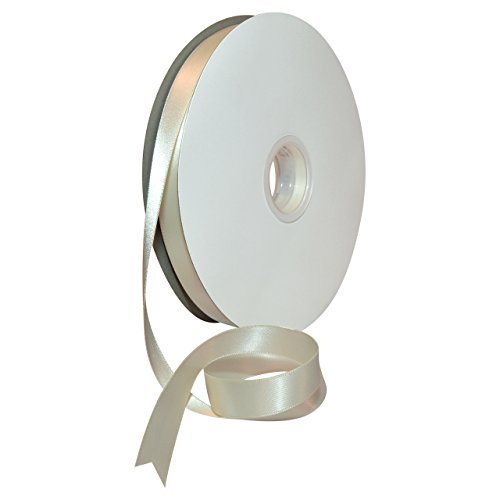 - Morex Ribbon Double Face Satin Ribbon, 5/8