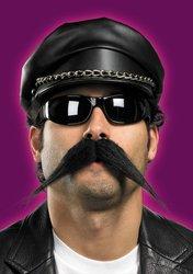 [Disguise Costumes 5391 Biker Mustache, Adult] (Biker Halloween Costumes For Adults)
